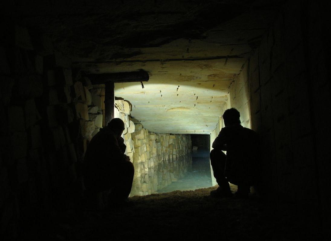 Человеческие останки в катакомбах под центром Одессы нашел один из диггеров / фото katakomby.odessa.ua