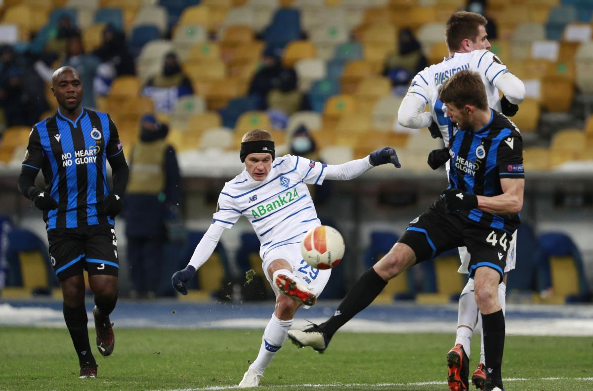 Виталий Буяльский забил гол в первом матче / фото REUTERS