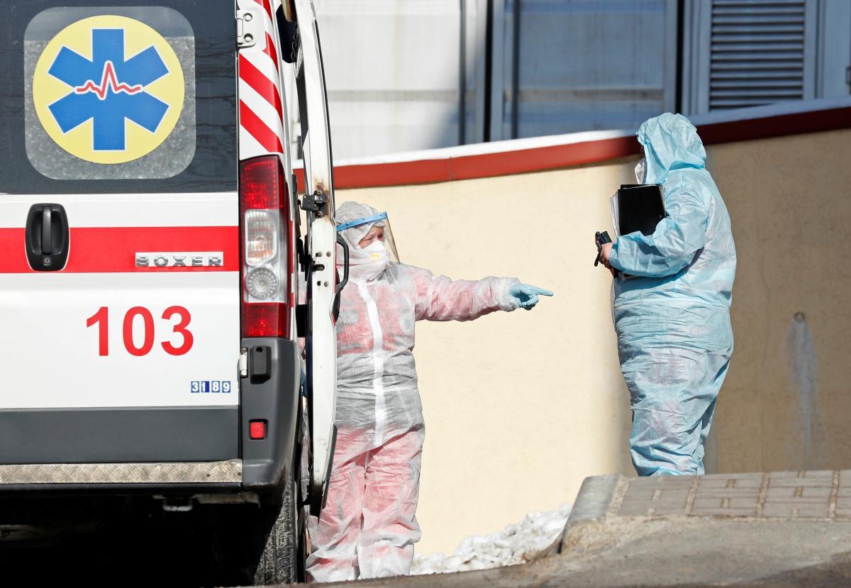 Новости Прикарпатья - из-за вспышки COVID-19 в области развернули еще 600 коек / Фото: REUTERS