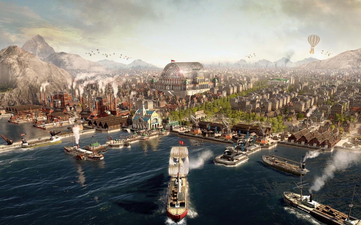 Випробувати Anno 1800 можна буде до 1 березня / фото Ubisoft