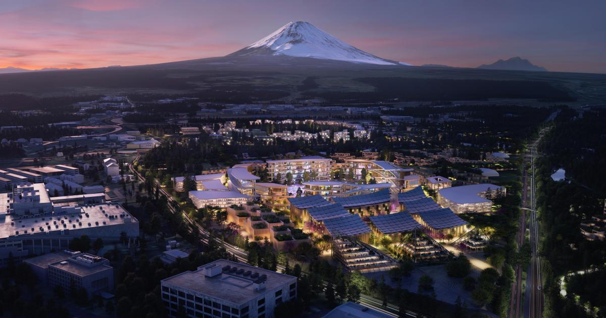 Спочатку доWoven City переберуться 360 жителів, серед яких й працівники Toyota / фото Toyota Official Global Website