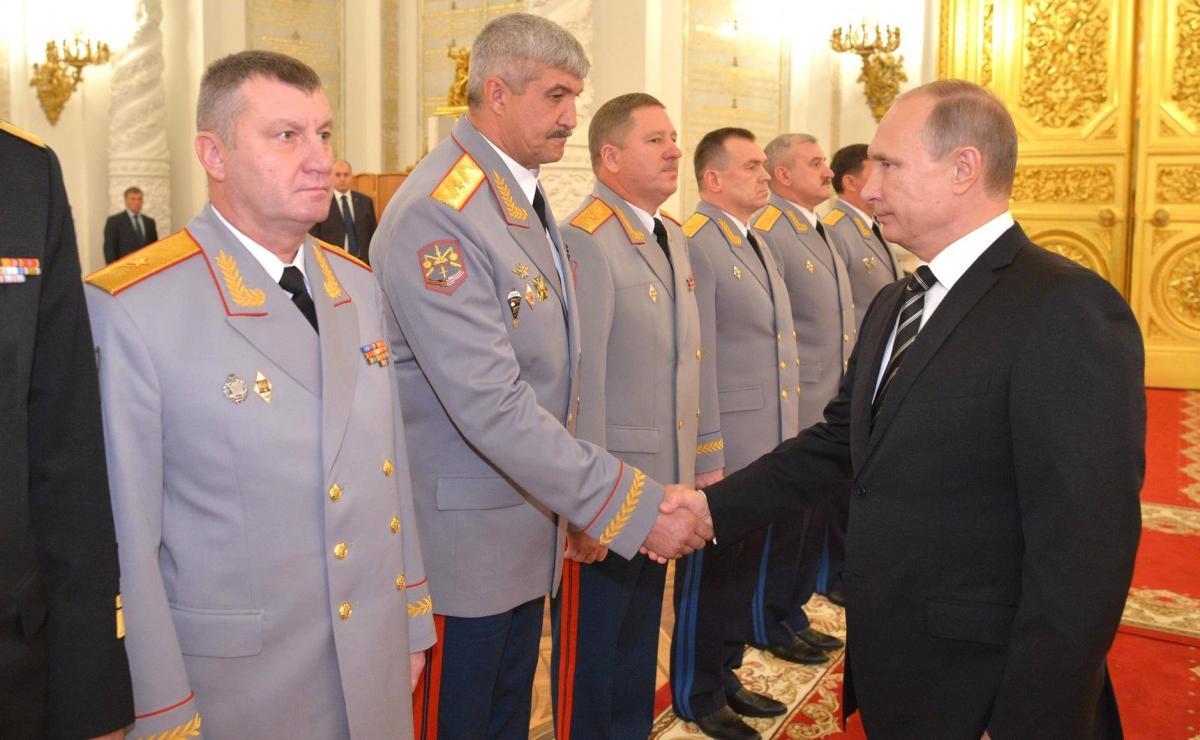 Кузовлев с Путиным в Кремле 20 октября 2015 года / фотоKremlin.ru