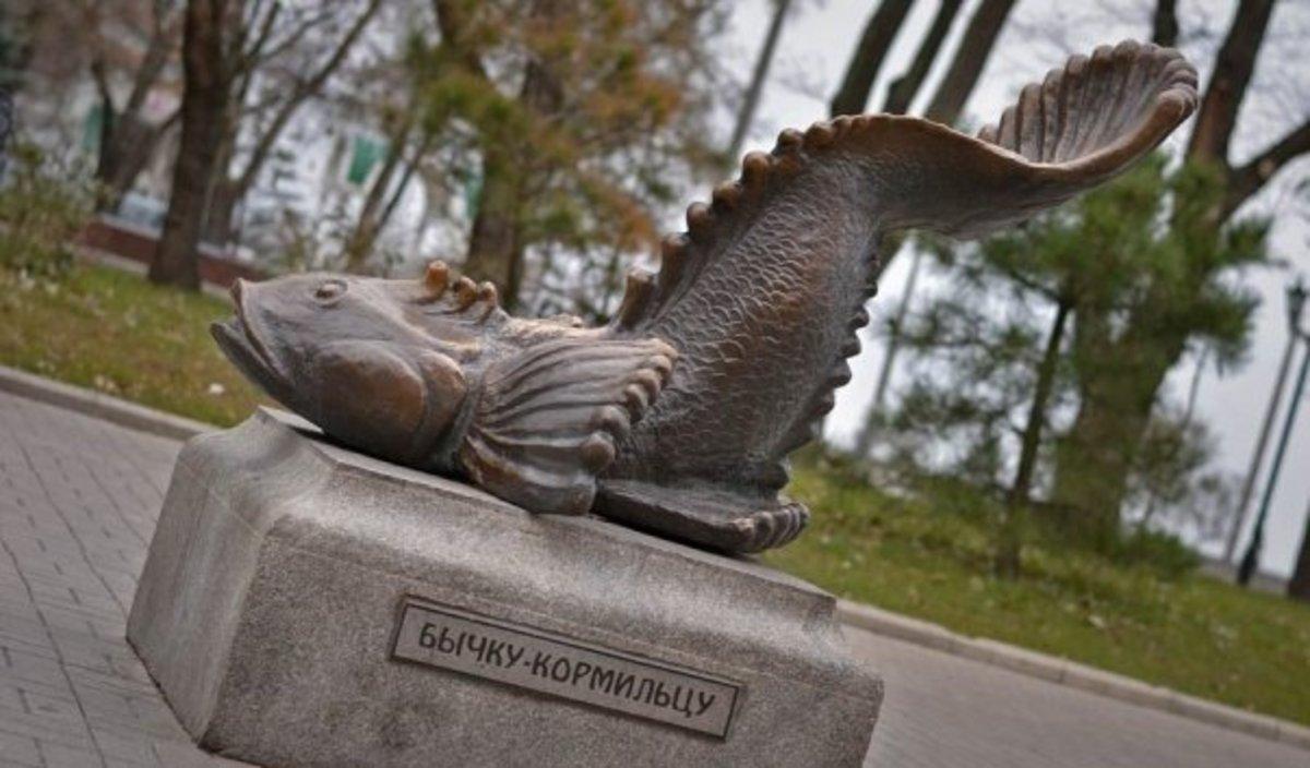 Скоро пам'ятник стане єдиним нагадуванням про рибу в Азовському морі/ фото Nicolas Turustus