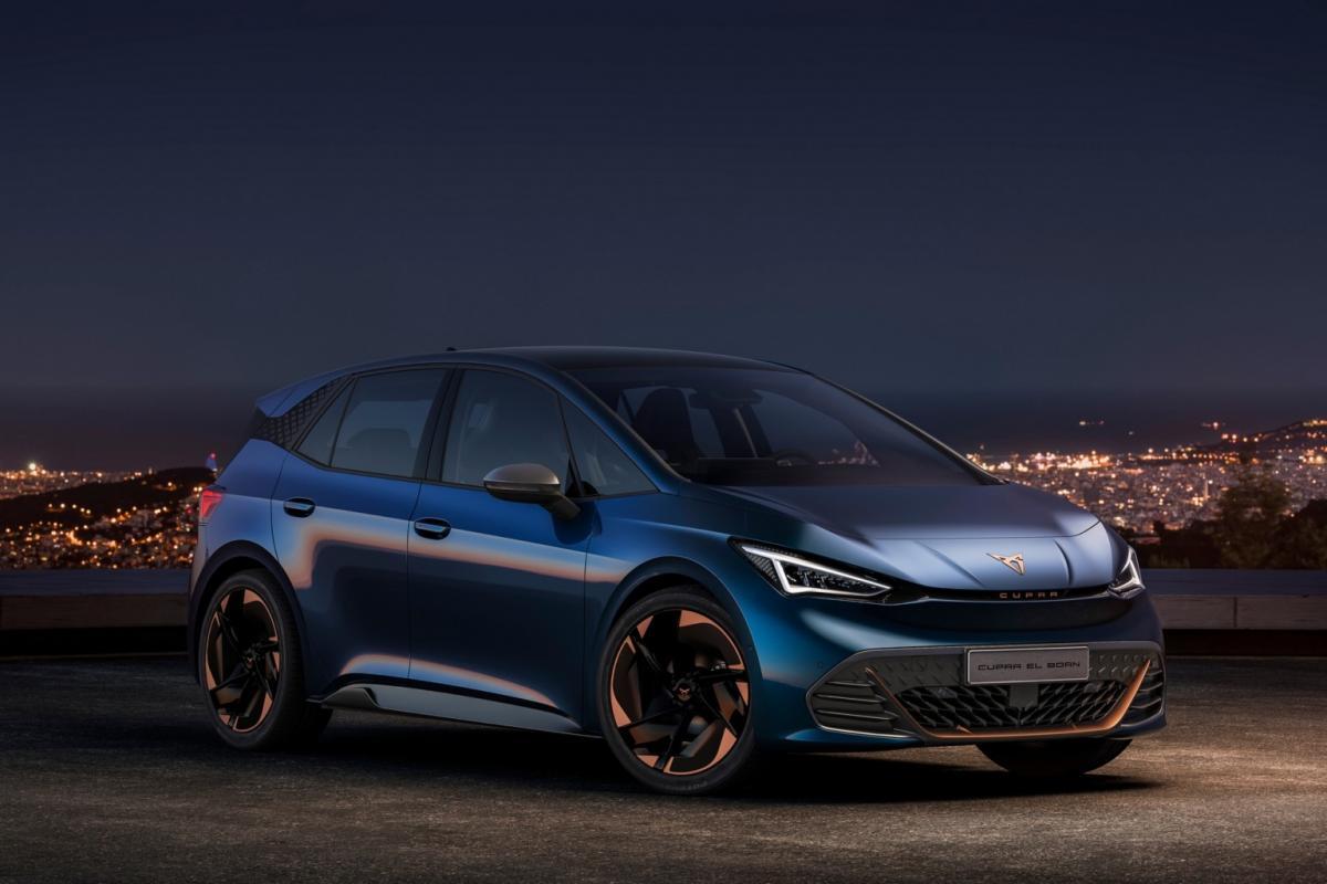 Seat запускає свій перший електрокар у масове виробництво / фото Cupra