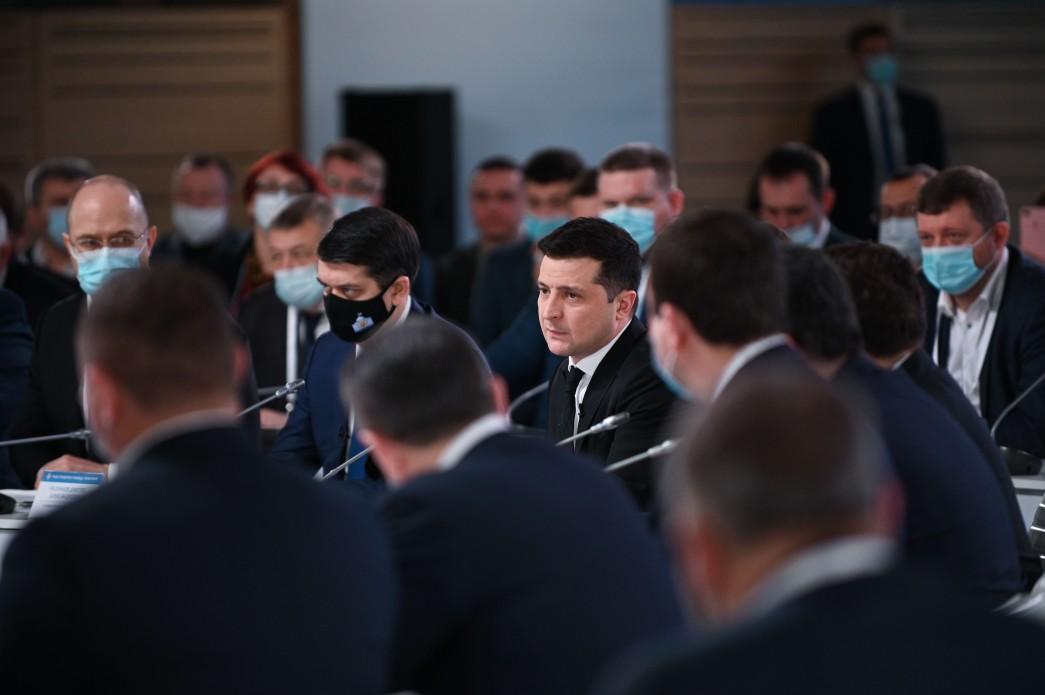Український Конгрес буде створеноз ініціативи президента Зеленського «за прикладом Конгресу Ради Європи» / фото Офіс Президента України