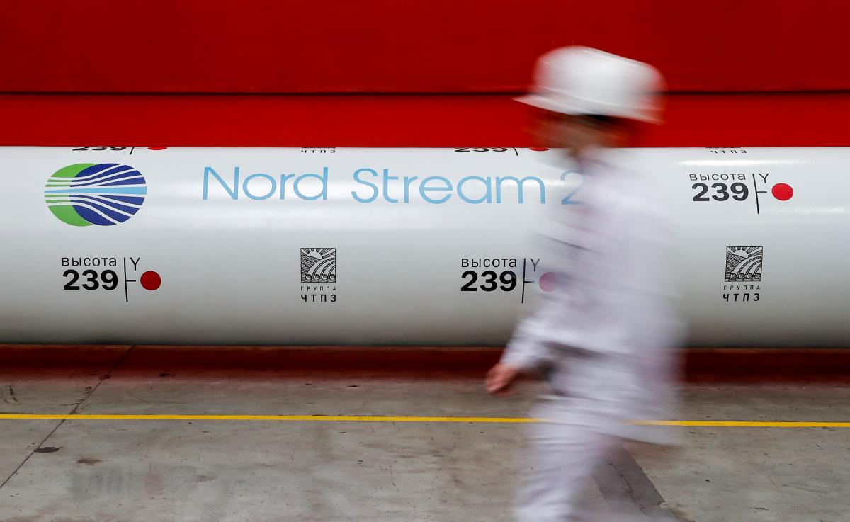 """США відмовились від санкцій проти """"Північного потоку-2""""/ фото REUTERS"""