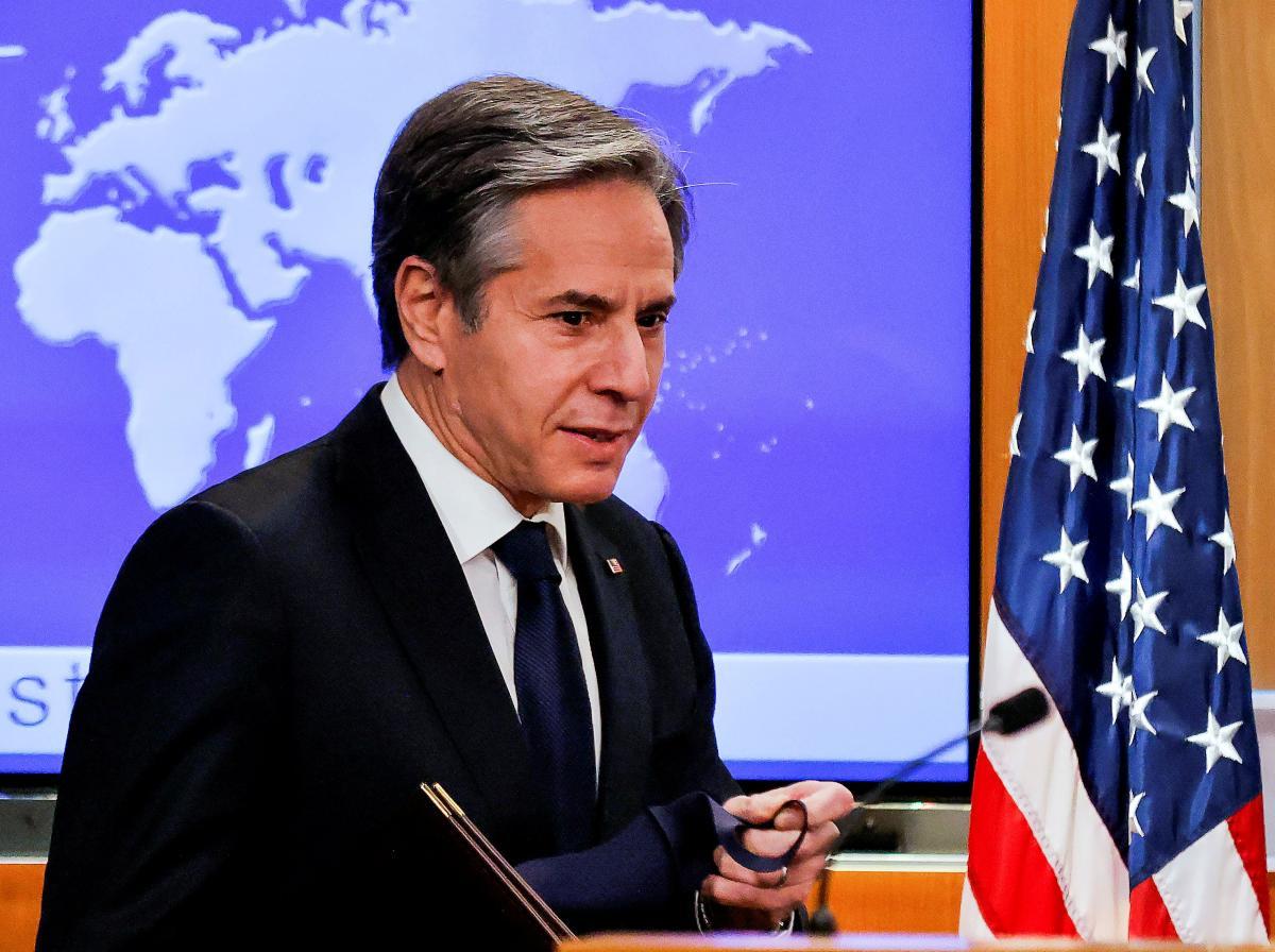 Блинкен: отношения с РФ будут сложными / фото REUTERS