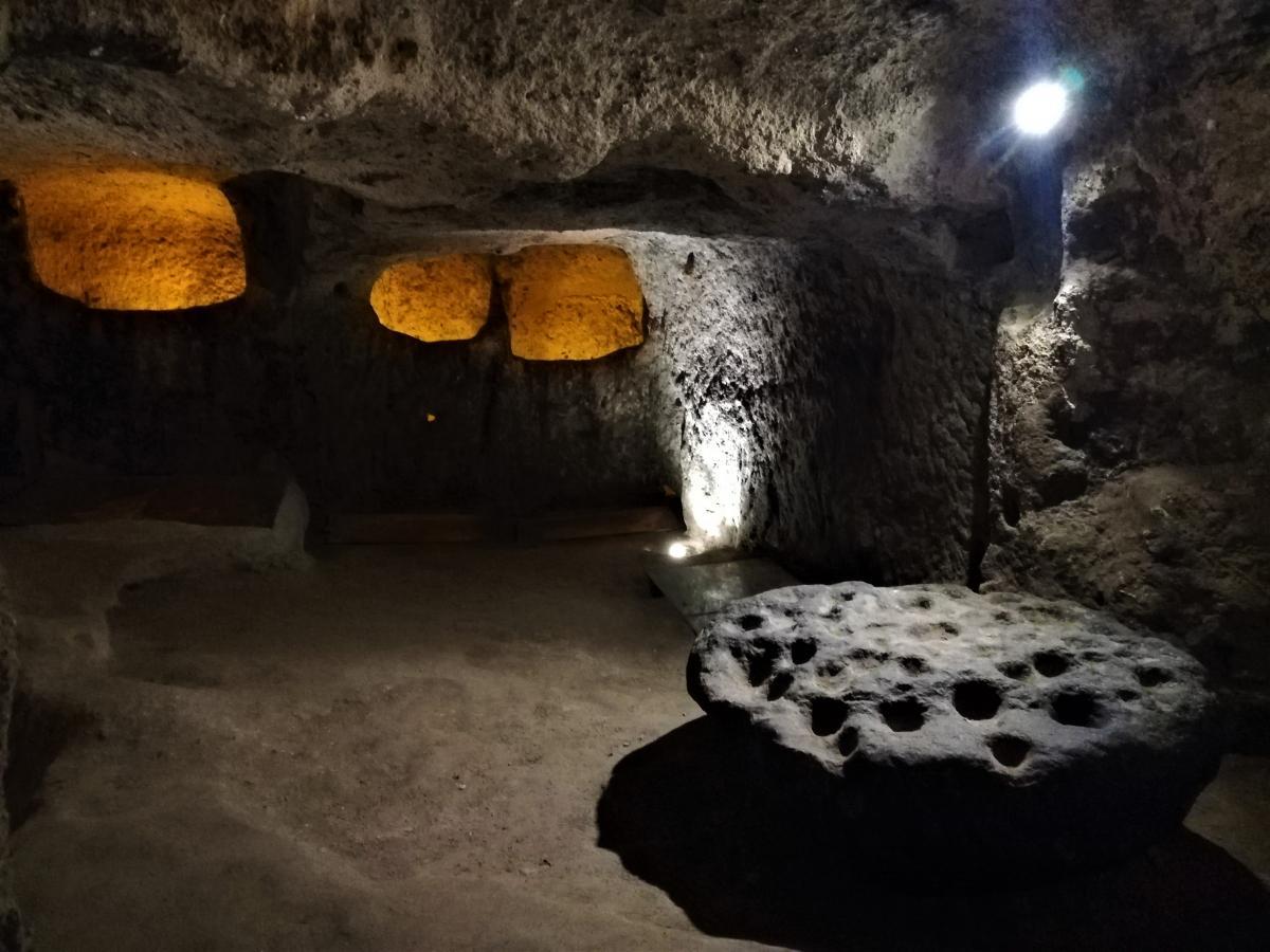 Підземне місто Каймакли в Каппадокії / фото Марина Григоренко