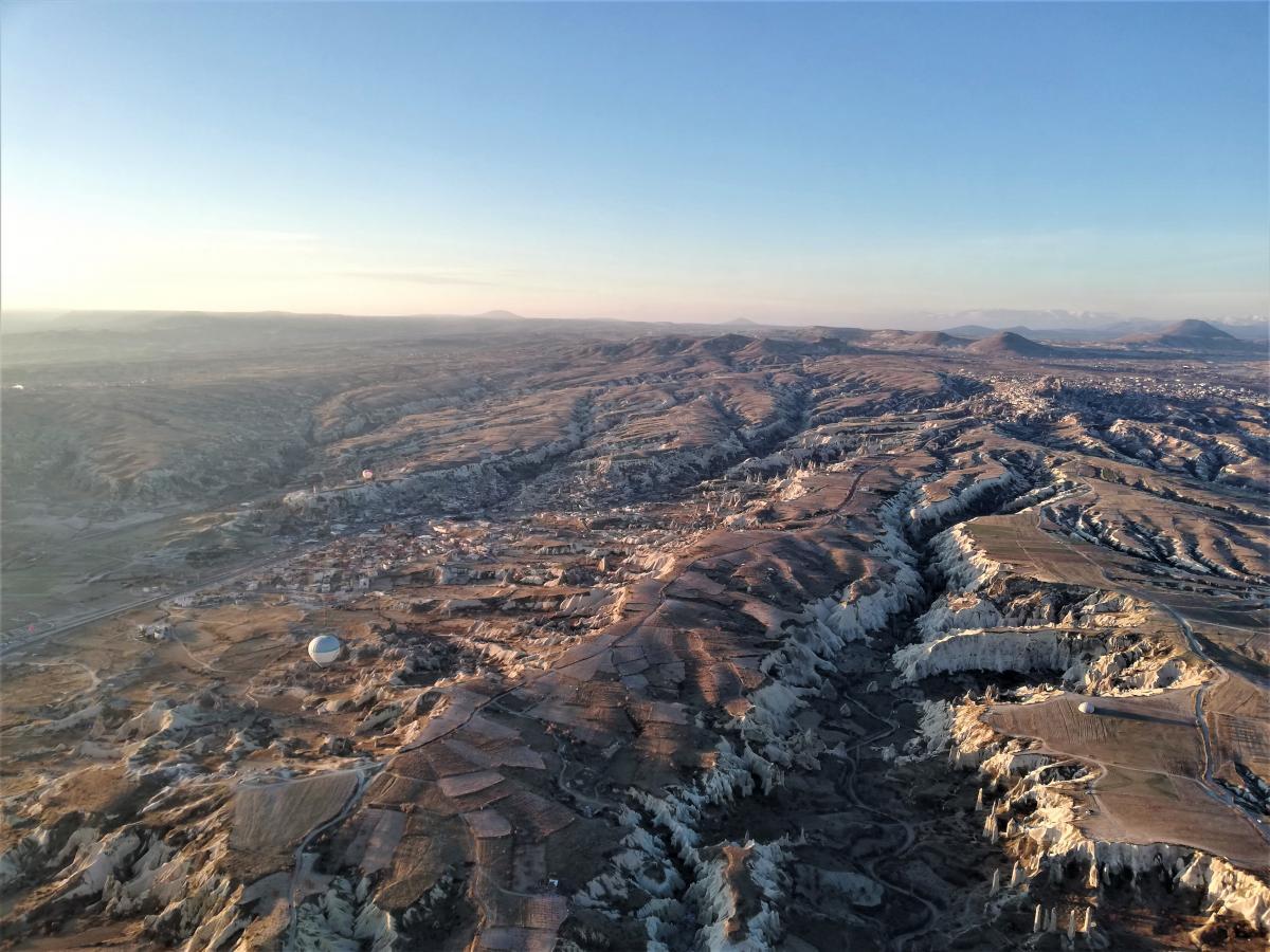 Ландшафти Каппадокії з висоти / фото Марина Григоренко