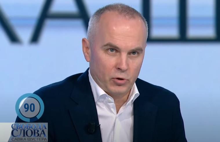 Санкции СНБО - между Шуфричем и Даниловым произошла перепалка в прямом эфире / скриншот