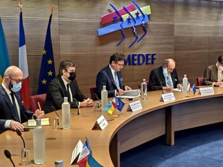 Кулеба запросив французьких бізнесменів долучитися до проектів в Україні / фото mfa.gov.ua