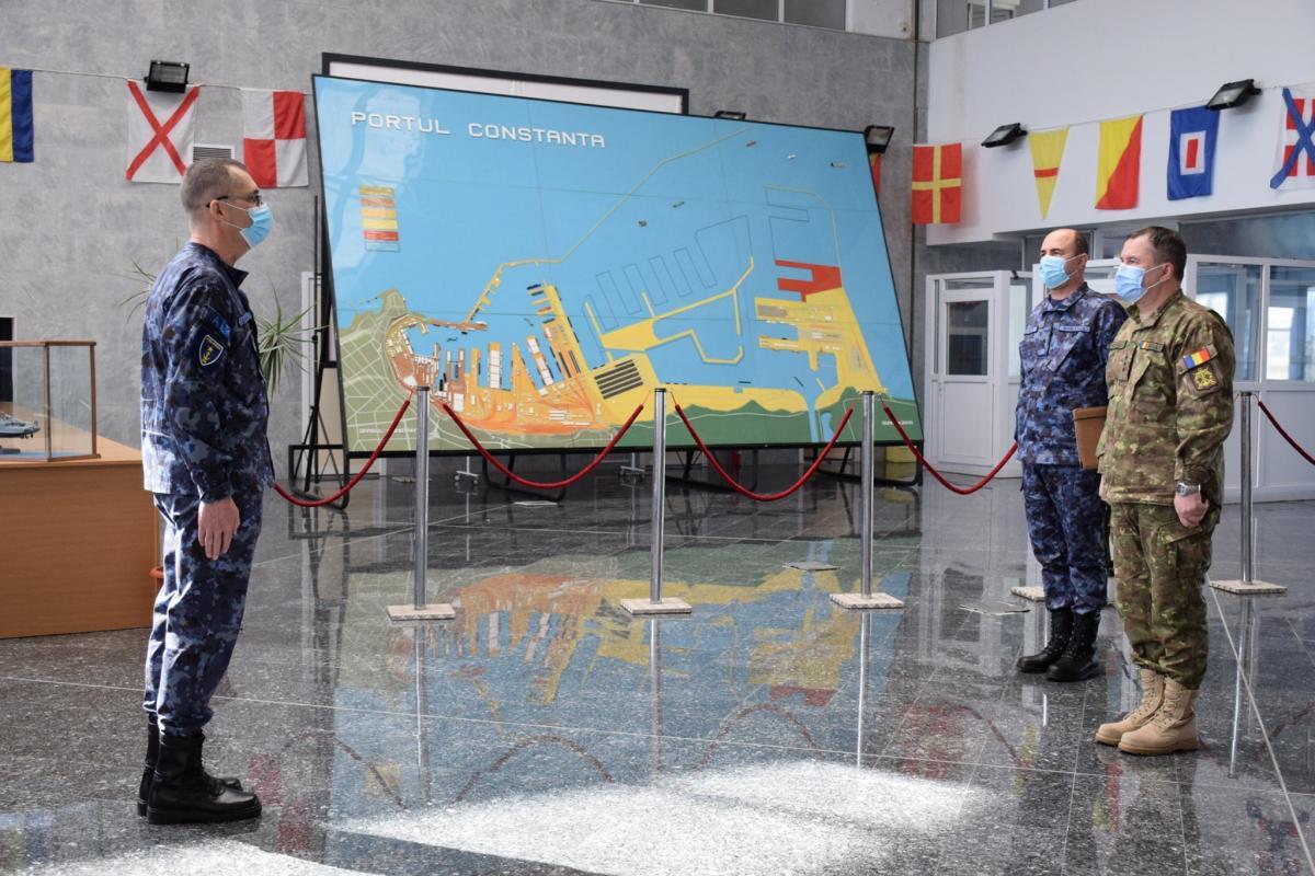 Официальное открытие учений состоялось 27 февраля в порту Констанца / фото facebook.com/ForteleNavaleRomane