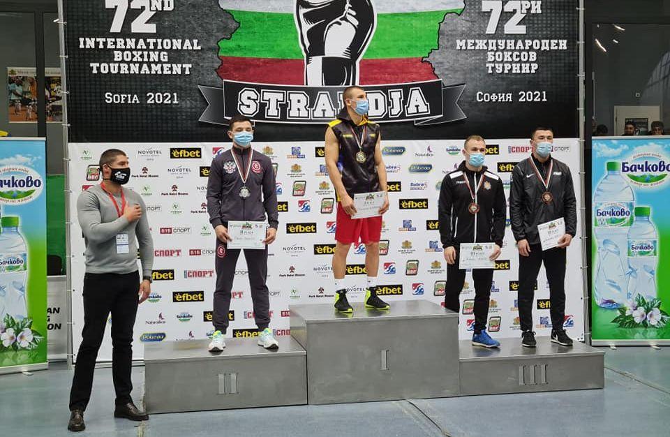 Олександр Хижняк - переможець турніру / фото ФБУ