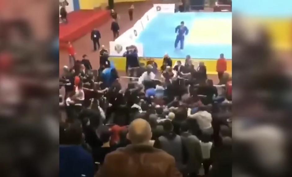 В Дагестане соревнования по дзюдо/ Скриншот с видео