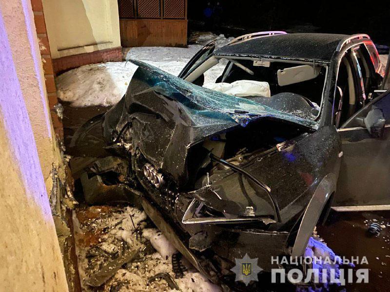 На Ровенщине в ДТП погибли два человека / фото Нацполиция