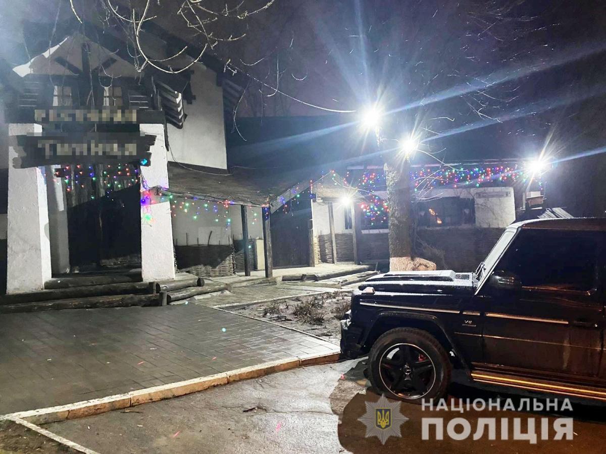 Во время стрельбы никто не пострадал / фото Нацполиция