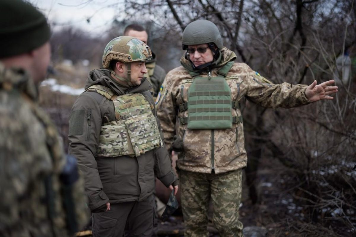 Наступление на Донбассе — Хомчак заявил о готовности Зеленского