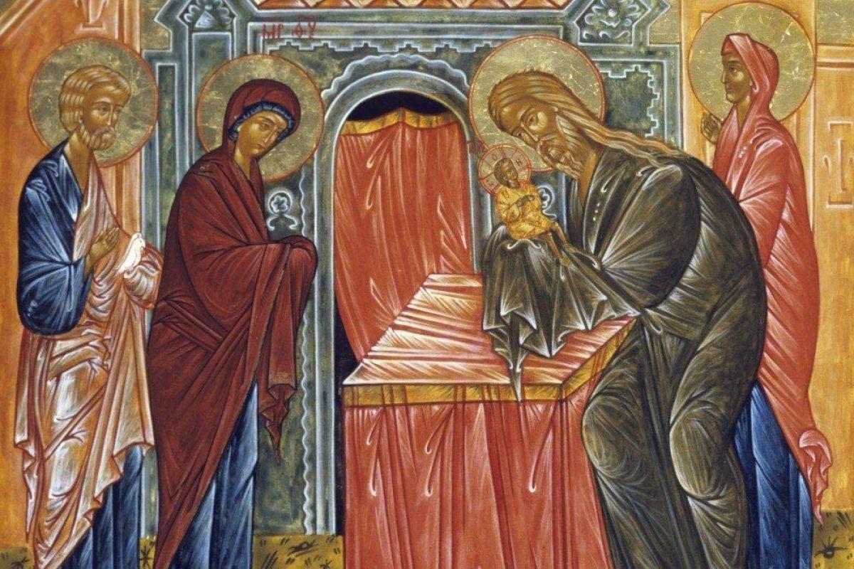 Со Сретением Господним 2021 — поздравления в стихах, рисунках и