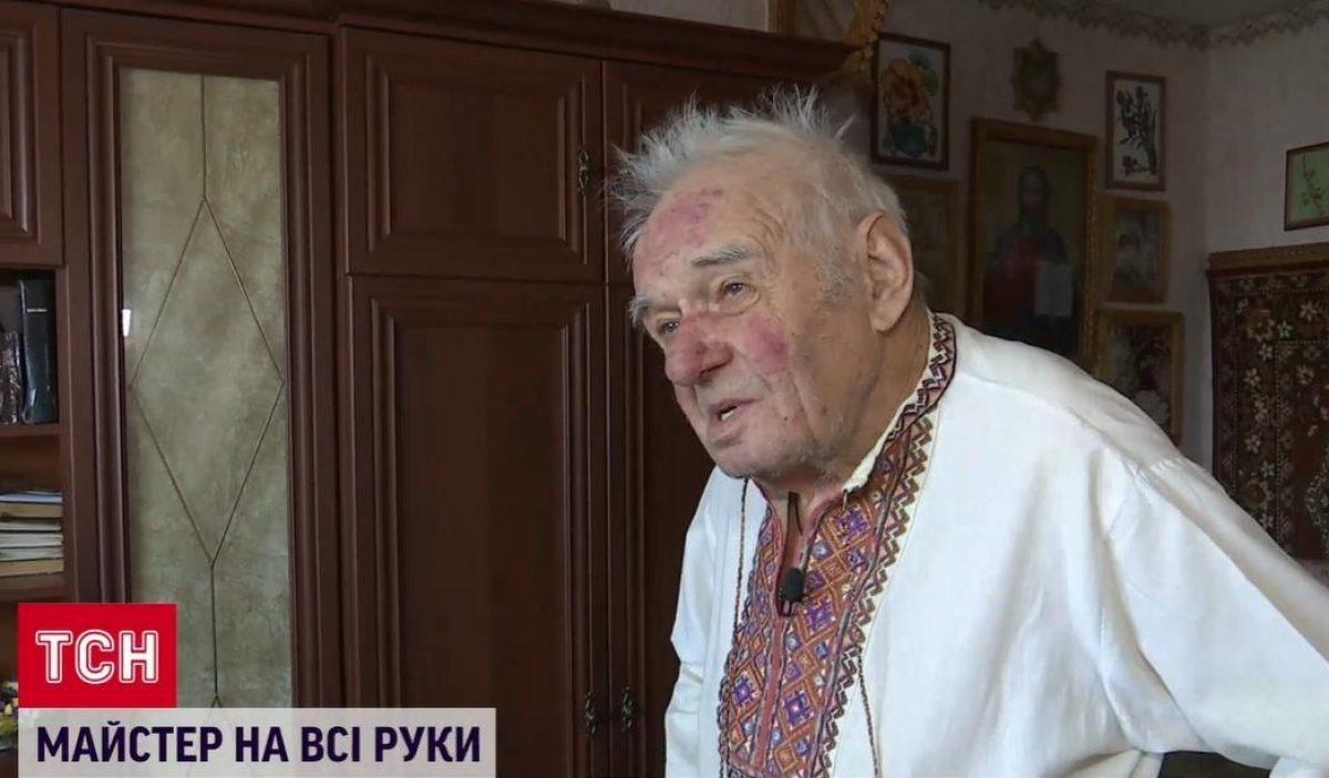 пенсионер из Боярки делает кормушки из дерева — новости Украины —