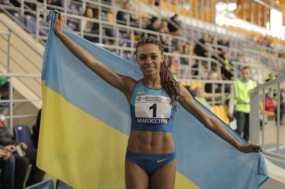 Джойс Коба — темнокожая украинская легкоатлетка показала пикантные