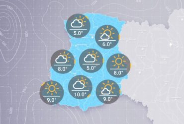 Прогноз погоди в Україні на ранок четверга, 25 лютого