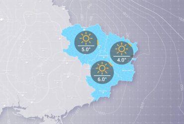 Прогноз погоди в Україні на п'ятницю, 26 лютого