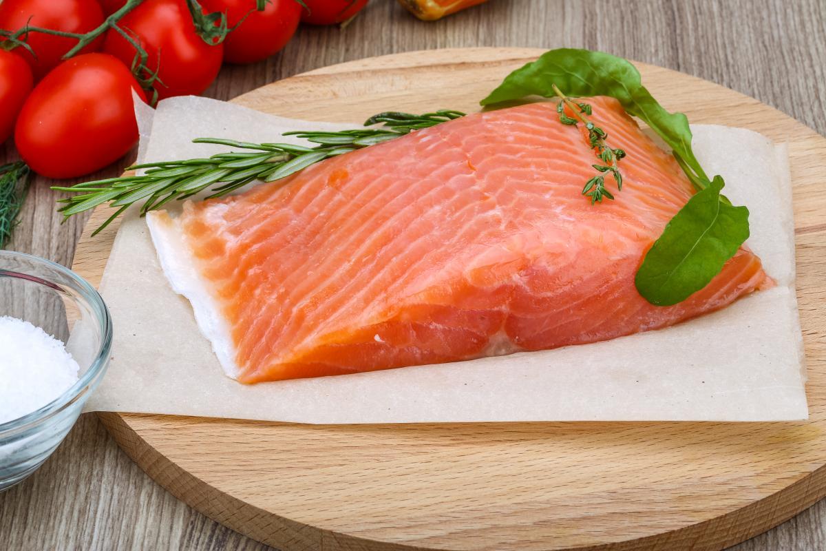 Рыба очень важна в рационе ребенка \ фото ua.depositphotos.com