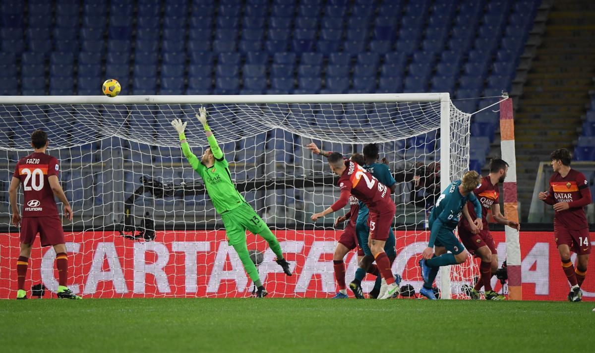Рома - Милан / фото REUTERS