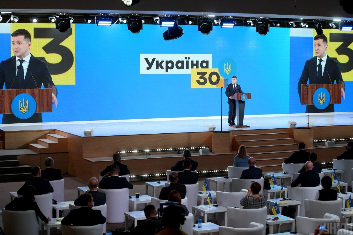 Зеленський нагадав, що10 березня має відбутися засідання Тристоронньої контактної групи / фото УНІАН, В'ячеслав Ратинський