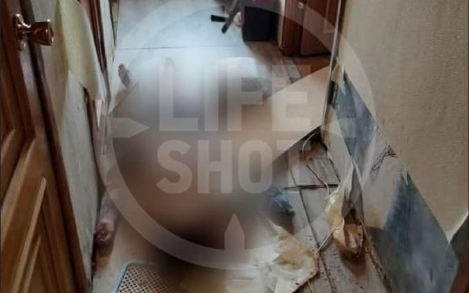 Тело девушки нашли на полу / фото /t.me/Lshot