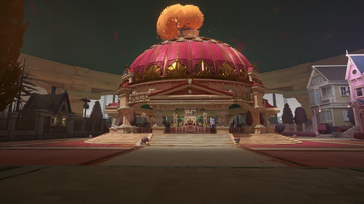Внутри вот такого купола находится макет, то есть внутренний слой / скриншот