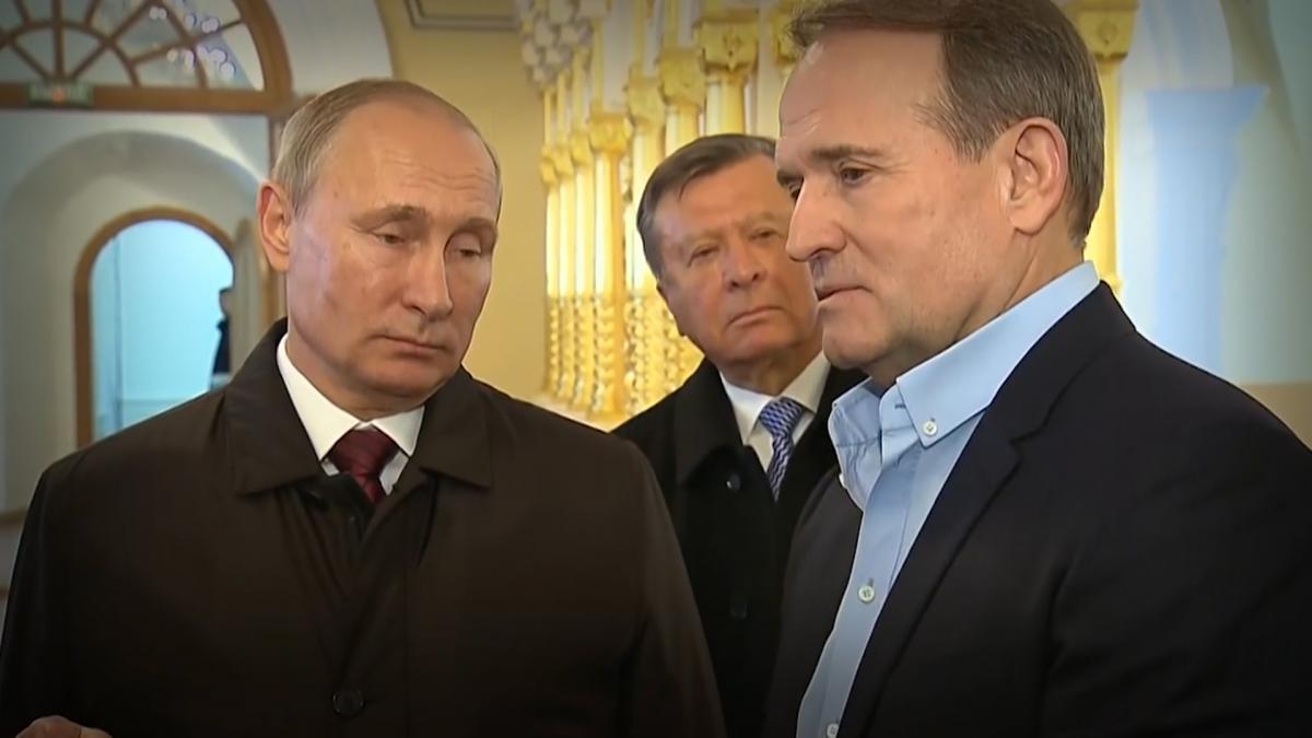 Порошенко вклав у руки Медведчуку «козир» - опікуватися звільненням українських солдат та цивільних, які стали заручниками проросійських сил на Донбасі