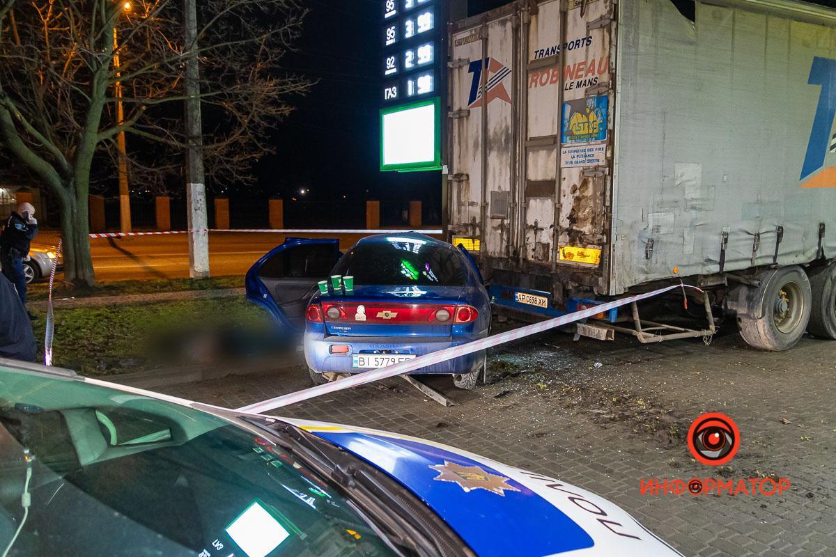 Удар припав на пасажирський бік авто / фото dp.informator.ua
