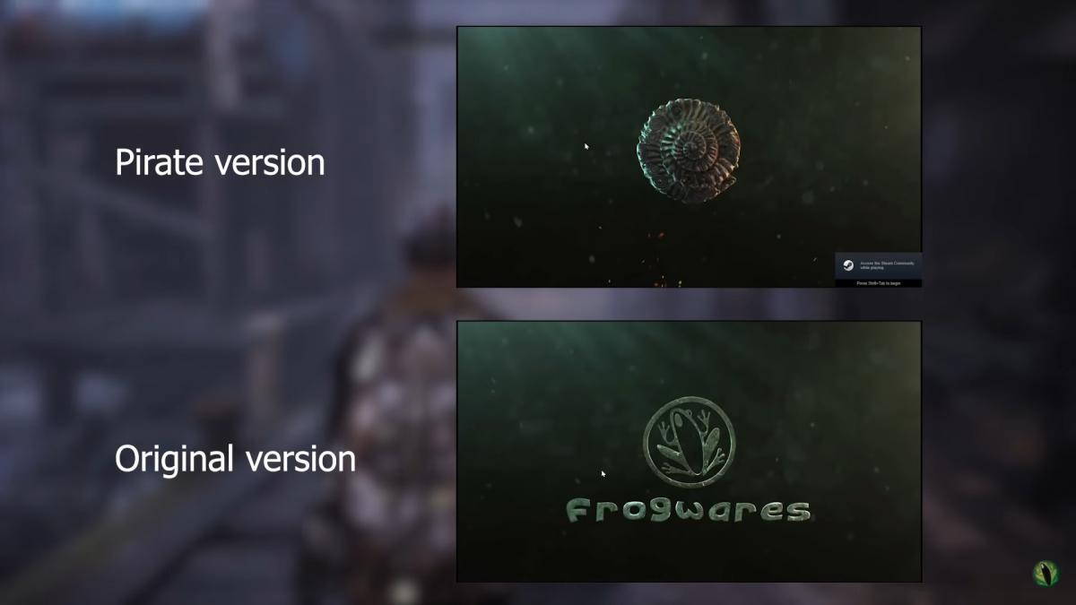 Издатель убрал некоторые логотипы из оригинальной версии /скриншот