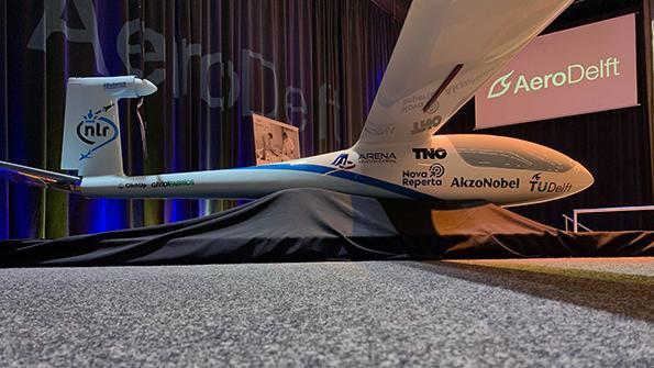Прототип представляет собой беспилотную версию немецкого электрического самолета e-Genius / Фото Aviationweek