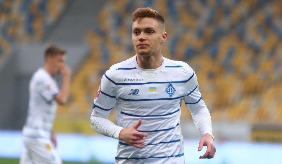 Виктор Цыганков получил травму во время матча/ фото Динамо Киев