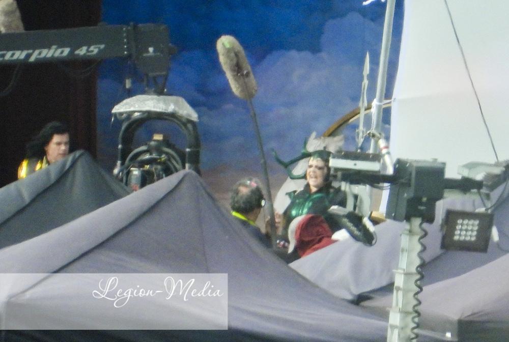 "Фото со съемок фильма ""Тор: Любовь и гром"" / фото legion-media"