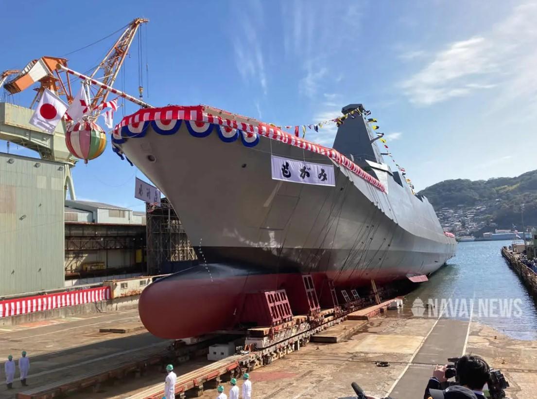 В Японії на воду спустили новий фрегат / Naval News