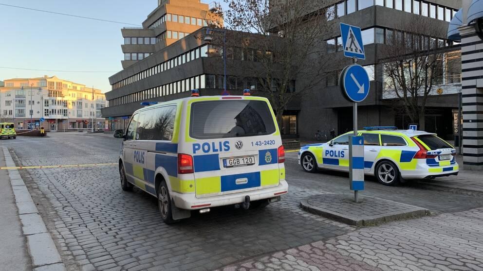 Чоловіка, підозрюваного в нападі у шведському місті Ветланда, затримали / фото SVT, Kristin Renulf