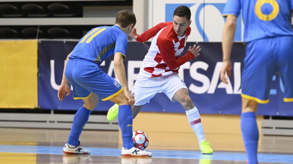 Украина проиграла Хорватии / фото twitter.com/HNS_CFF