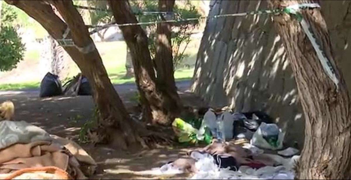 Инцидент произошел в парке Агуа Ла Перра на острове Гран-Канария/ фото Daily Mail