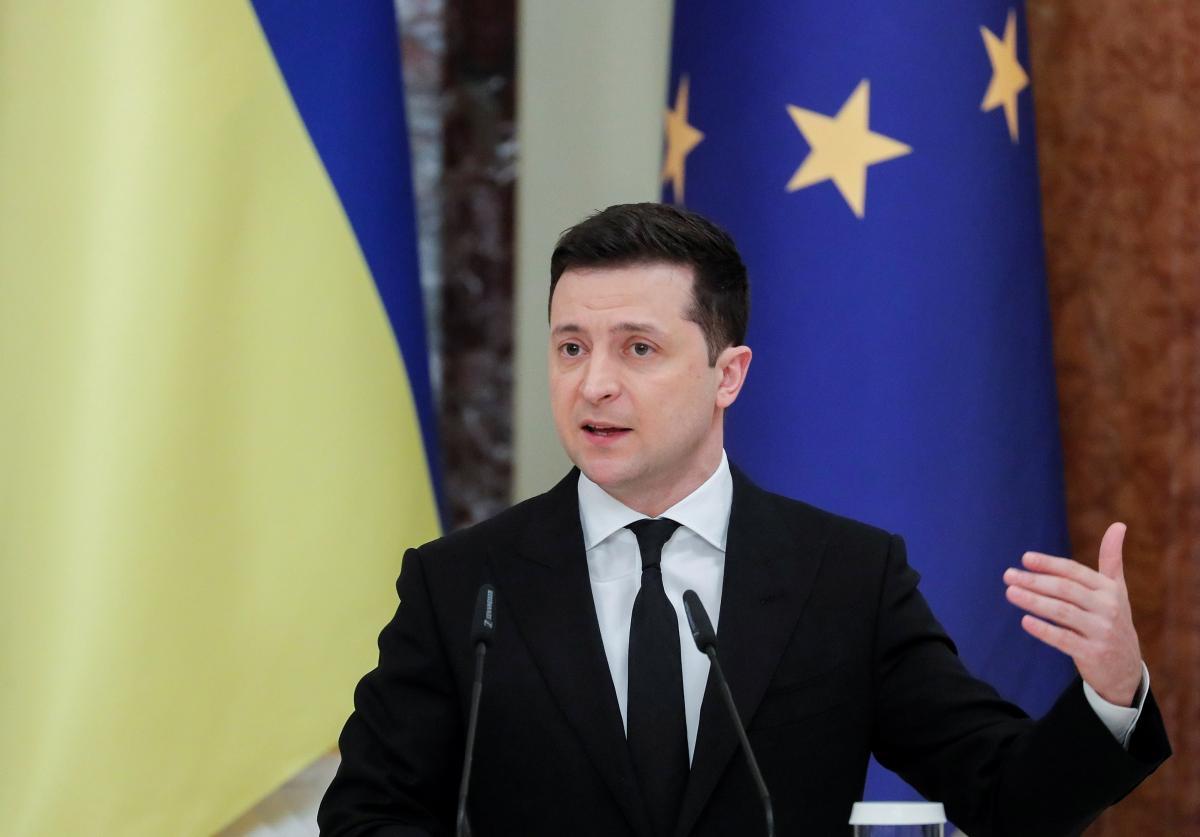 Зеленский: Европейские лидеры должны открыто говорить, что они видят Украину в ЕС / фото REUTERS