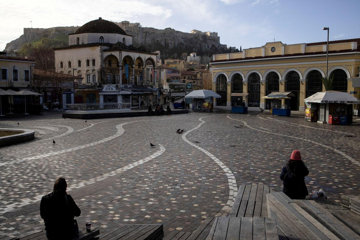 Греція посилила карантин на два тижні / фото REUTERS