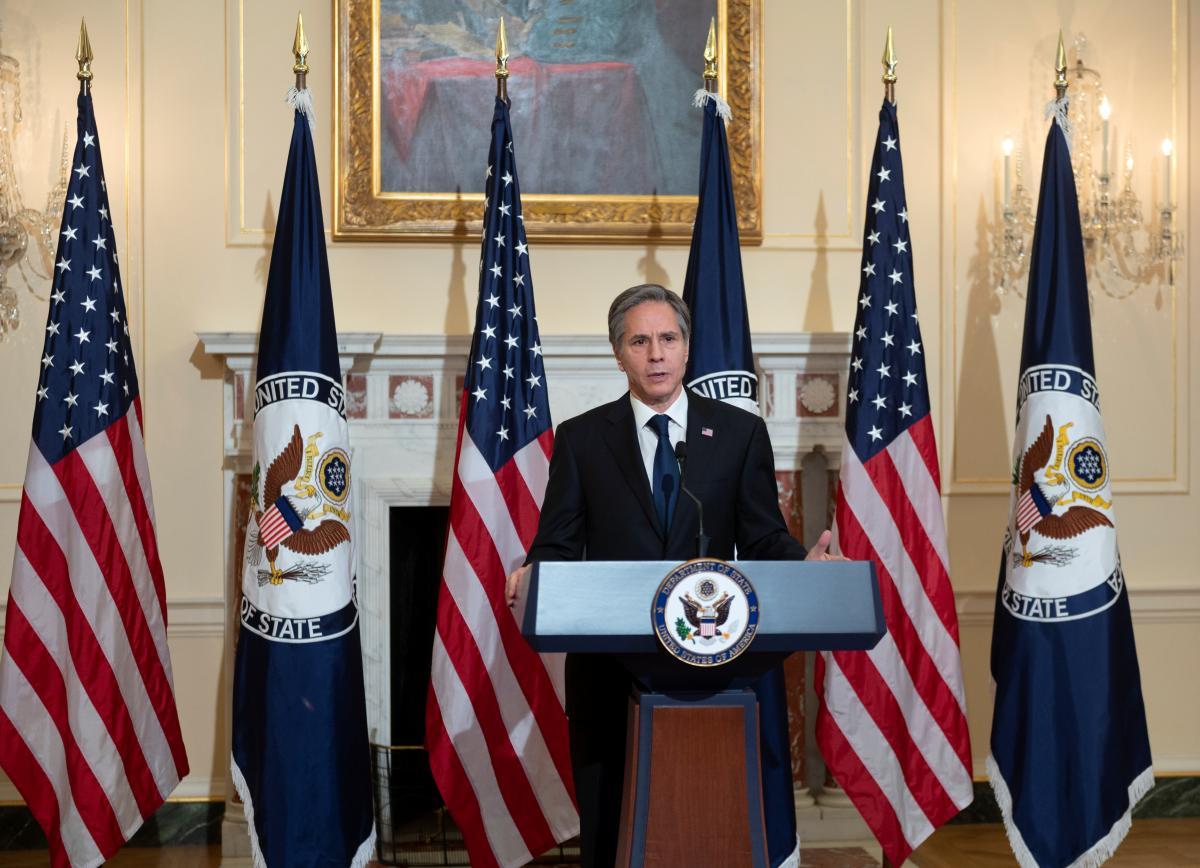 Энтони Блинкен выделил восемь основных целей новой администрации США / фото REUTERS