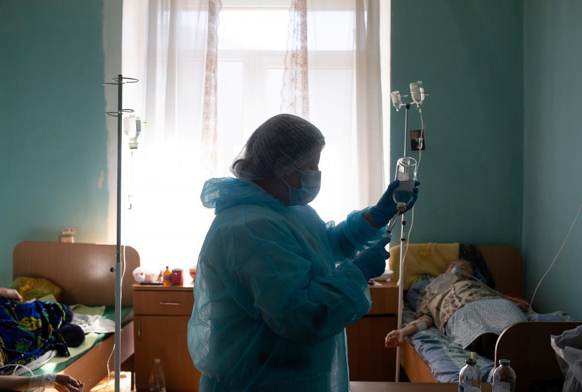 В больнице Одессы начались серьезные проблемы с кислородом / Фото: REUTERS