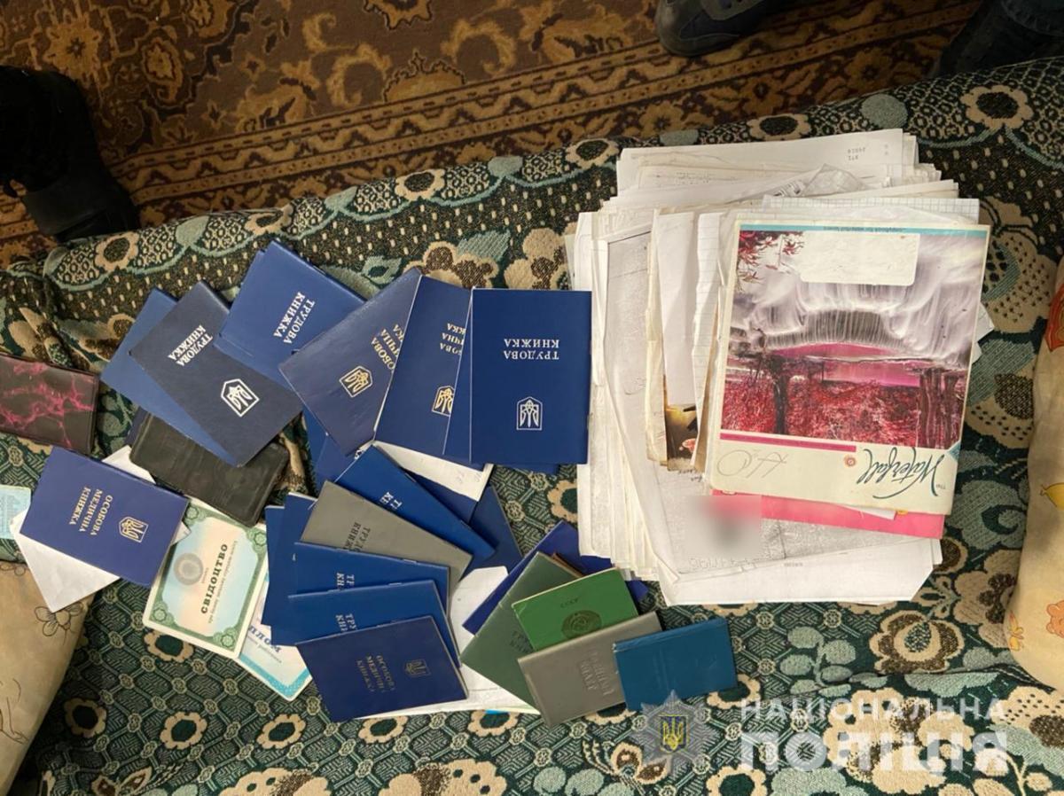 Правоохранители обыскали помещение, где жили рабочие \ hk.npu.gov.ua