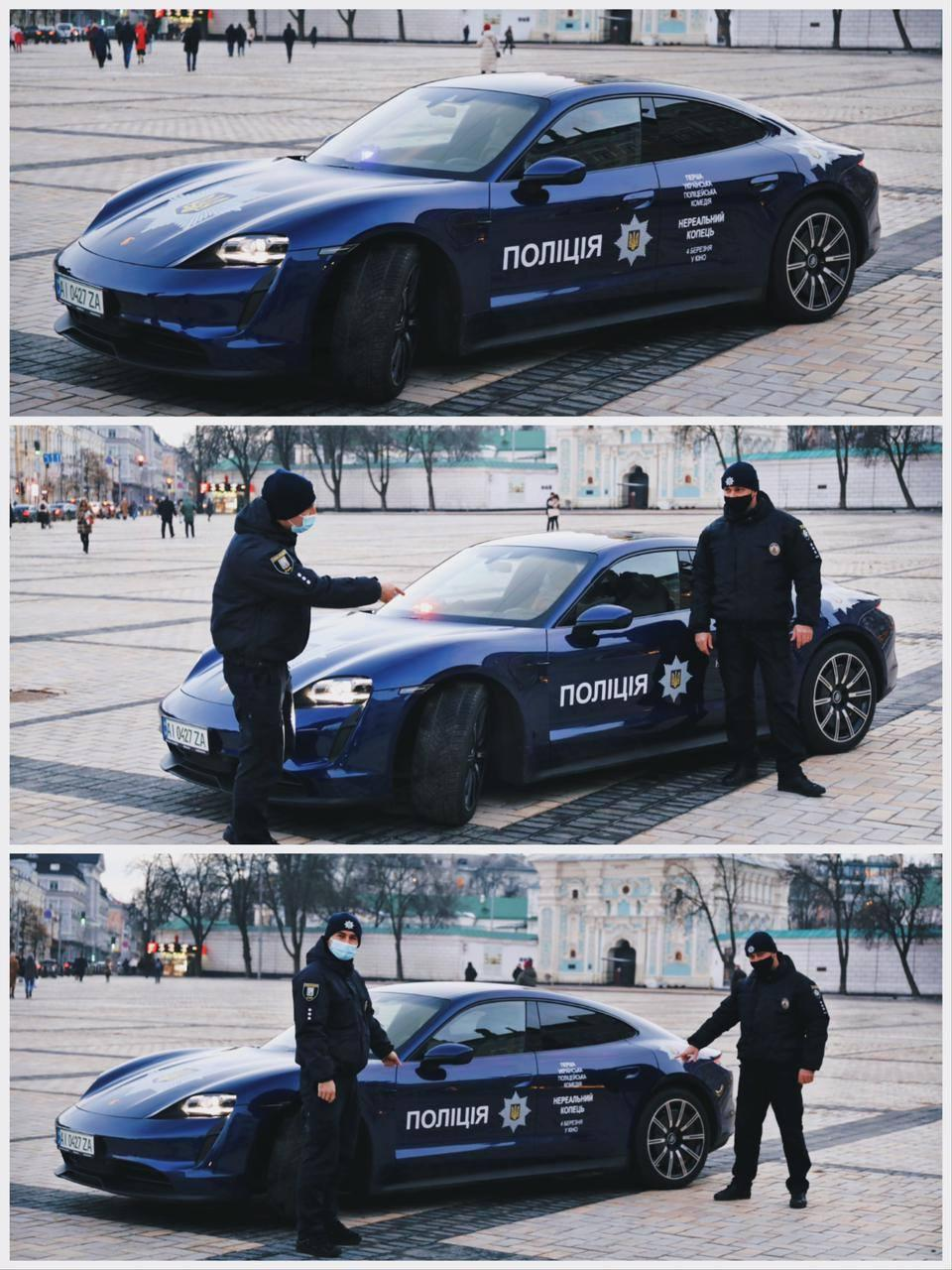 Поліцейські кожен день були на знімальному майданчику / фото facebook.com/UA.National.Police