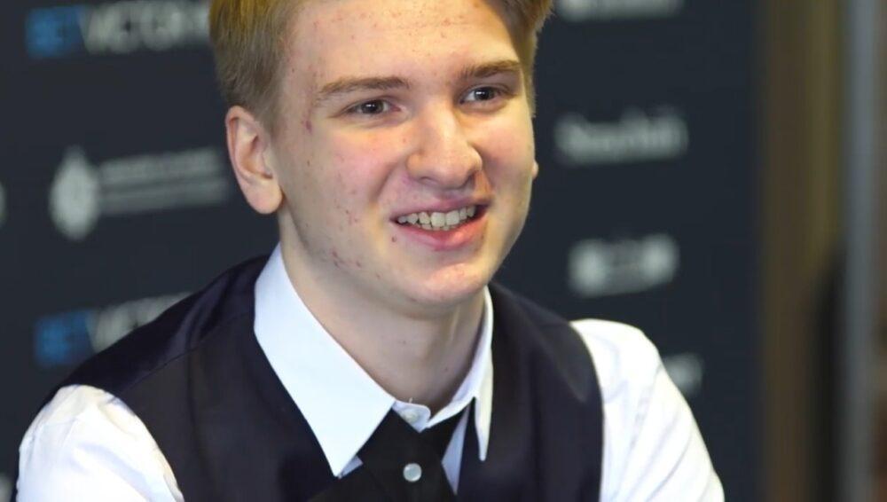 Юліан Бойко є професійним гравцем з минулого року / фото snooker.ua