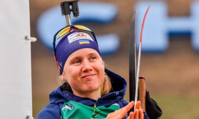 """Анастасия Меркушина написала, что """"поняла одну вещь"""" / фото biathlon.com.ua"""