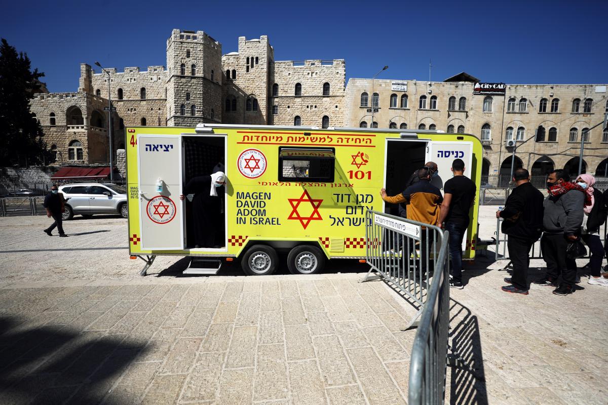 З 20 грудня Ізраїль проводить масову вакцинацію населення від коронавірусу / фото REUTERS